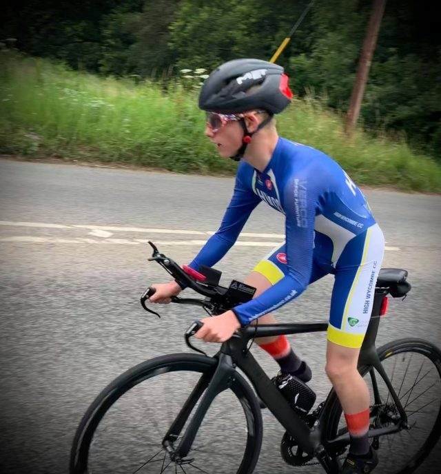 Charlie Hussey takes to the TT circuit